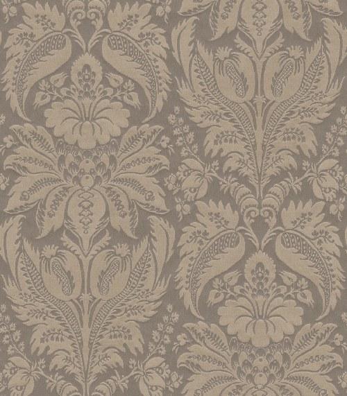 Tapeta Etro ornamenty hnědo písková 517613 | lepidlo zdarma - Rasch