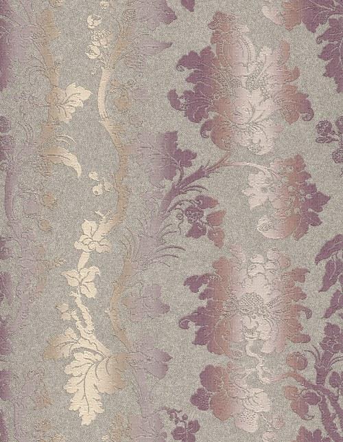 Tapeta Etro ornamenty šedo fialová 517859 | lepidlo zdarma - Rasch