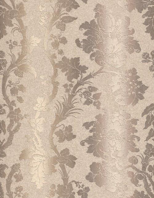 Tapeta Etro ornamenty béžovo hnědé 517842   lepidlo zdarma - Rasch