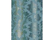 Tapeta Etro ornamenty modro béžová 517835 Rasch