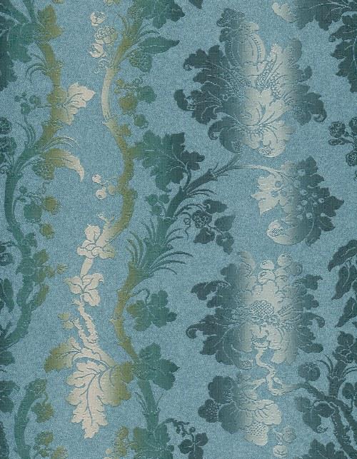 Tapeta Etro ornamenty modro béžová 517835 | lepidlo zdarma - Rasch