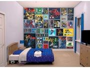 3D Fototapeta Walltastic Transformers Robots 43831   305x244 cm Fototapety skladem