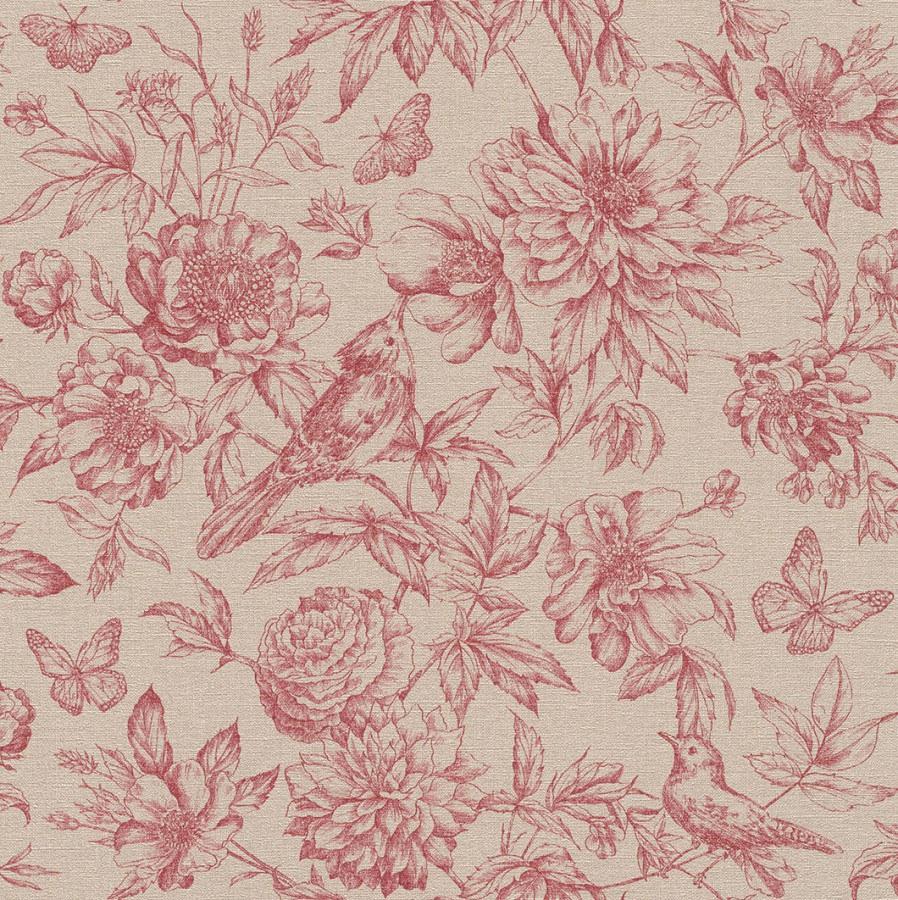 Tapeta Florentine Květiny - Rasch