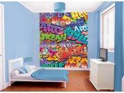 3D Fototapeta Walltastic Graffiti 42827 | 203x243cm Fototapety