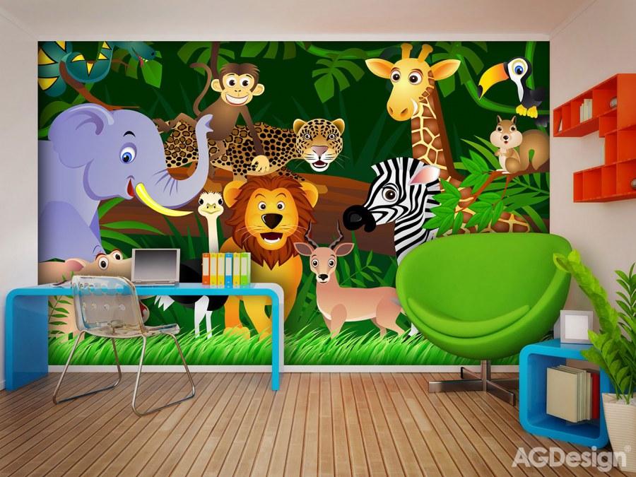 Fototapeta AG Zvířátka FTS-1307 | 360x254 cm - Fototapety skladem