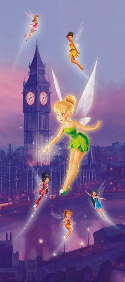 Fototapeta Fairies v Londýně FTDNV-5424 | 90x202 cm - Fototapety