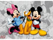 Fototapeta AG Mickey a Minnie FTDNM-5204 | 160x110 cm Fototapety