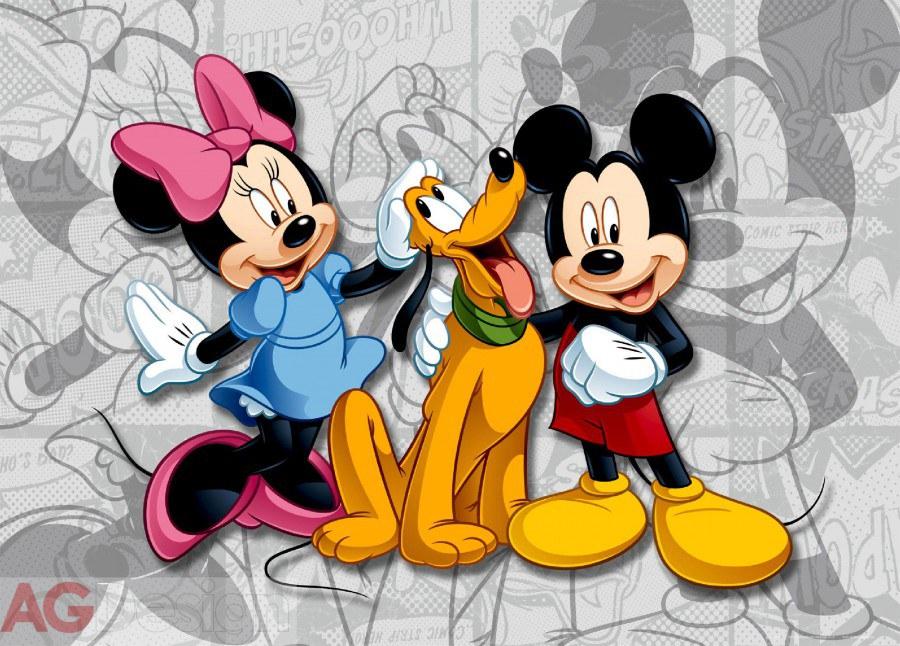 Fototapeta AG Mickey & Minnie FTDM-0284 | 160x115 cm - Fototapety skladem