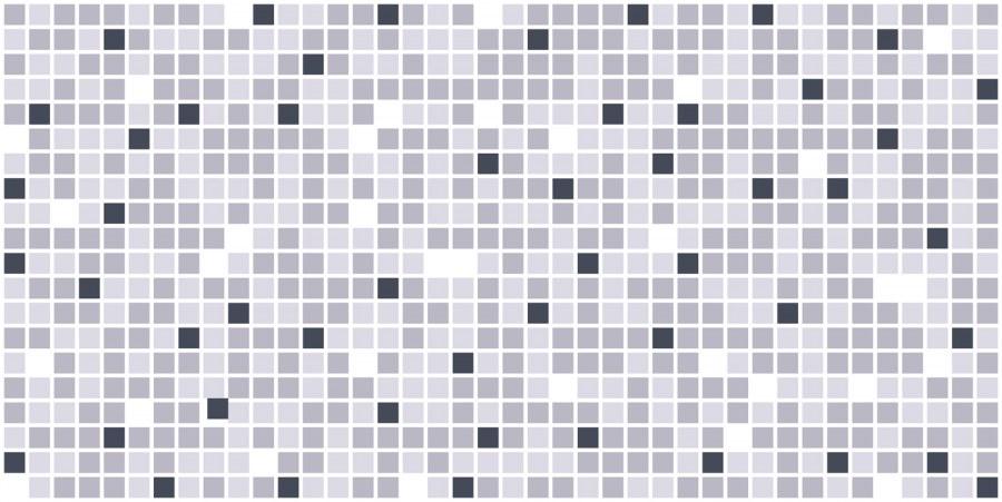 3D obkladový PVC panel mozaika šedá - 3D obkladové panely