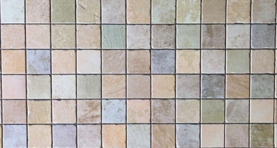 3D obkladový PVC panel mozaika barevná - 3D obkladové panely