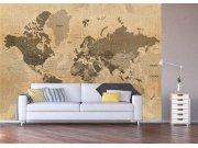 Fototapeta Historická mapa světa FTNXXL-1215 Fototapety