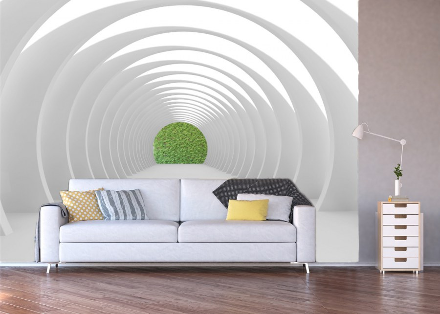 Fototapeta 3D tunel FTNXXL-1216 - Fototapety