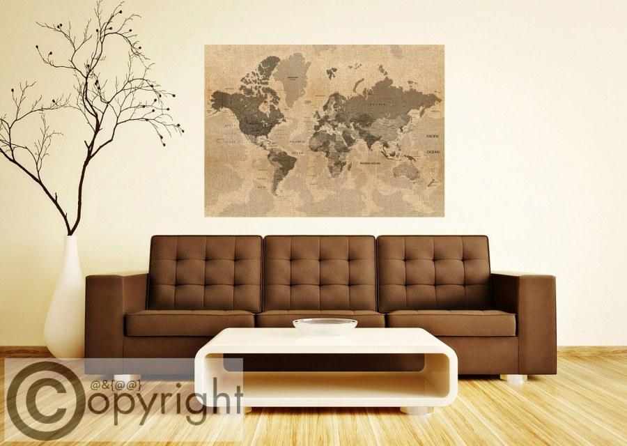 Fototapeta AG Stará mapa světa FTNM-2683 - Fototapety