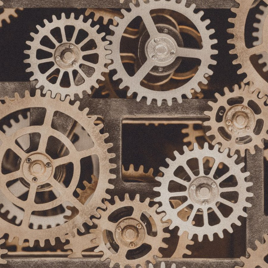 Tapeta Factory ozubená kola 940114 - Rasch