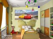 Fototapeta Cars FTDNH-5377 | 202x90 cm Fototapety