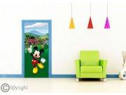 Fototapeta Mickey Mouse FTDNV-5480 | 90x202 cm Fototapety