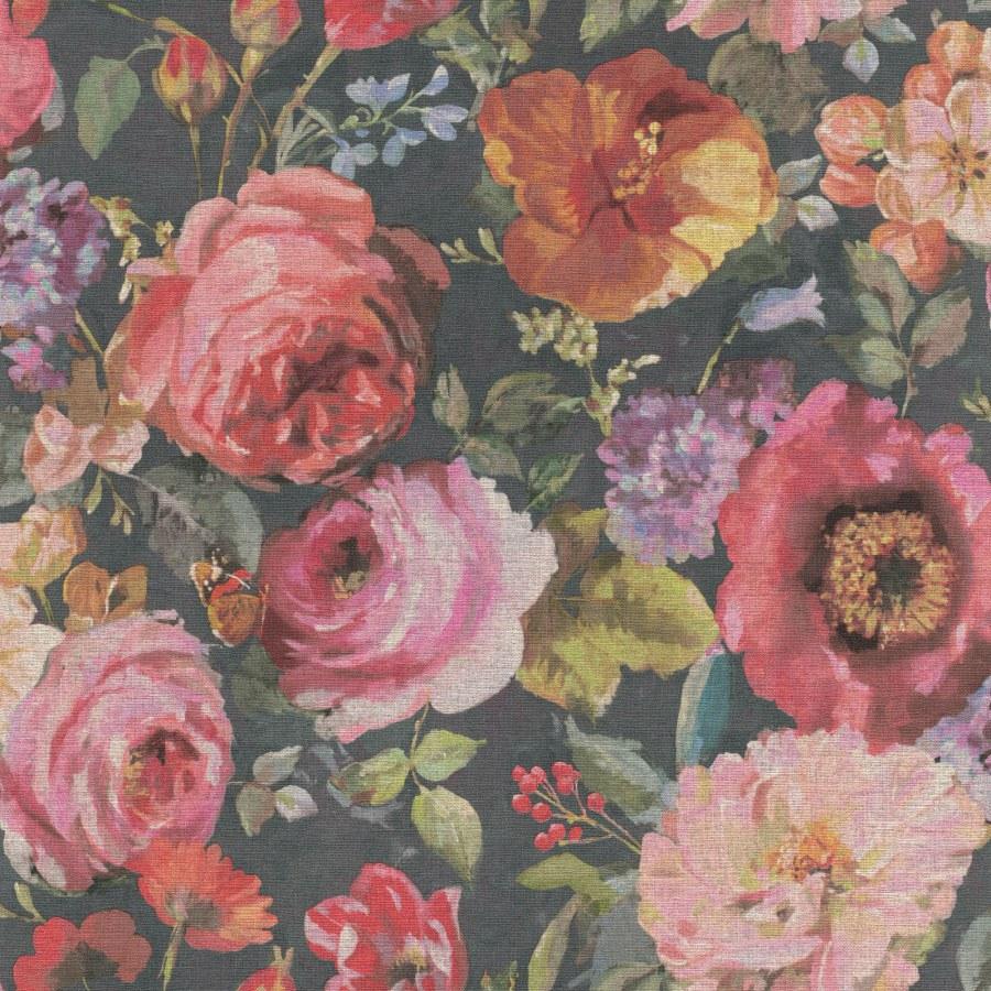 Tapeta květiny Barbara 527865 | lepidlo zdarma - Rasch