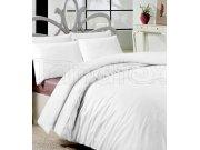 Povlečení bílé bavlna de luxe 200x240 Výprodej