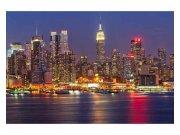 Fototapeta na zeď Manhattan v noci | MS-5-0003 | 375x250 cm Fototapety