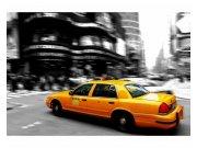 Fototapeta na zeď Žluté taxi | MS-5-0007 | 375x250 cm Fototapety