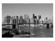 Fototapeta na zeď Manhattan v šedé barvě | MS-5-0010 | 375x250 cm Fototapety
