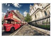 Fototapeta na zeď Londýnský autobus | MS-5-0017 | 375x250 cm Fototapety