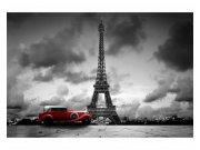Fototapeta na zeď Retro auto v Paříží | MS-5-0027 | 375x250 cm Fototapety