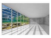 Fototapeta na zeď Interiér s výhledem | MS-5-0039 | 375x250 cm Fototapety
