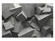 Fototapeta na zeď 3D betonová kvádry | MS-5-0176 | 375x250 cm Fototapety