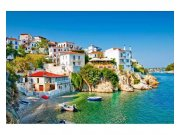 Fototapeta na zeď Řecká pobřeží | MS-5-0197 | 375x250 cm Fototapety