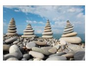 Fototapeta na zeď Kameny na pláži | MS-5-0204 | 375x250 cm Fototapety