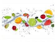 Fototapeta na zeď Ovoce ve vodě | MS-5-0239 | 375x250 cm Fototapety