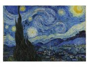 Fototapeta na zeď Hvězdná Noc Od Vincenta Van Gogha | MS-5-0250 | 375x250 cm Fototapety