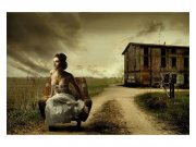 Fototapeta na zeď Dívka v křesle | MS-5-0258 | 375x250 cm Fototapety