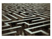 Fototapeta na zeď 3D labyrint | MS-5-0279 | 375x250 cm Fototapety