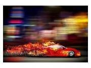 Fototapeta na zeď Závodní auto | MS-5-0309 | 375x250 cm Fototapety