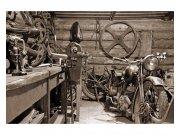 Fototapeta na zeď Starobylá garáž | MS-5-0319 | 375x250 cm Fototapety