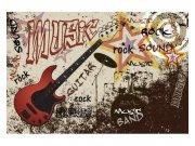 Fototapeta na zeď Červená kytara | MS-5-0324 | 375x250 cm Fototapety