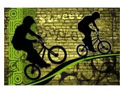 Fototapeta na zeď Zelené kolo | MS-5-0328 | 375x250 cm Fototapety