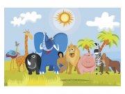 Fototapeta na zeď Zvířátka v Africe | MS-5-0338 | 375x250 cm Fototapety
