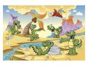 Fototapeta na zeď Krokodýlci | MS-5-0344 | 375x250 cm Fototapety