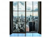 Fototapeta na zeď Pohled z okna na Manhattan | MS-3-0009 | 225x250 cm Fototapety