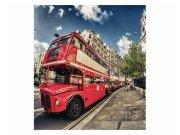 Fototapeta na zeď Londýnský autobus | MS-3-0017 | 225x250 cm Fototapety