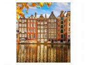 Fototapeta na zeď Domy v Amsterdamu | MS-3-0024 | 225x250 cm Fototapety