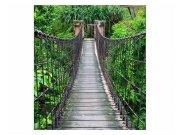 Fototapeta na zeď Most v lese | MS-3-0084 | 225x250 cm Fototapety