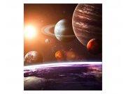 Fototapeta na zeď Sluneční soustava | MS-3-0188 | 225x250 cm Fototapety