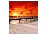 Fototapeta na zeď Molo při západu slunce | MS-3-0191 | 225x250 cm Fototapety