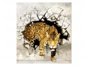 Fototapeta na zeď Panter na lovu | MS-3-0233 | 225x250 cm Fototapety