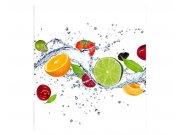 Fototapeta na zeď Ovoce ve vodě | MS-3-0239 | 225x250 cm Fototapety