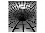 Fototapeta na zeď 3D stříbrná propast | MS-3-0278 | 225x250 cm Fototapety